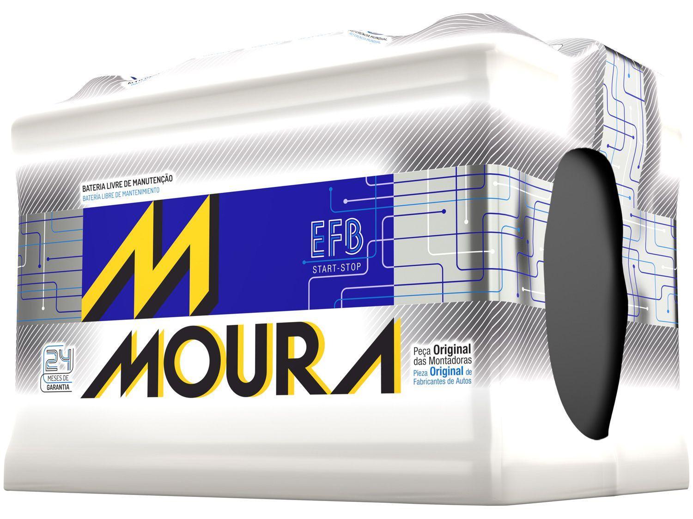 Bateria de Carro Moura MFB 72Ah - 12V Polo Positivo MF72LD MGE2 EFB