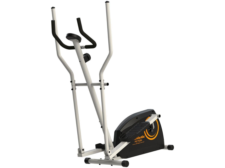 Elíptico Magnético Athletic Action - 8 Níveis de Esforço