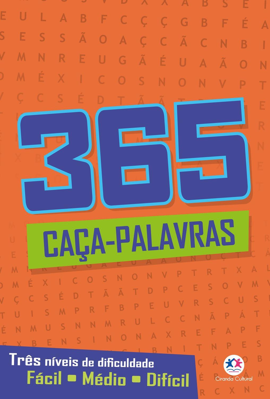Livro - 365 caça-palavras II