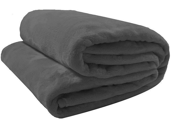 Cobertor Casal Camesa Microfibra 100% Poliéster - Velour Neo Chumbo