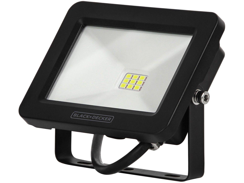 Refletor LED SMD 10W 6500K Branca - Black+Decker Eco