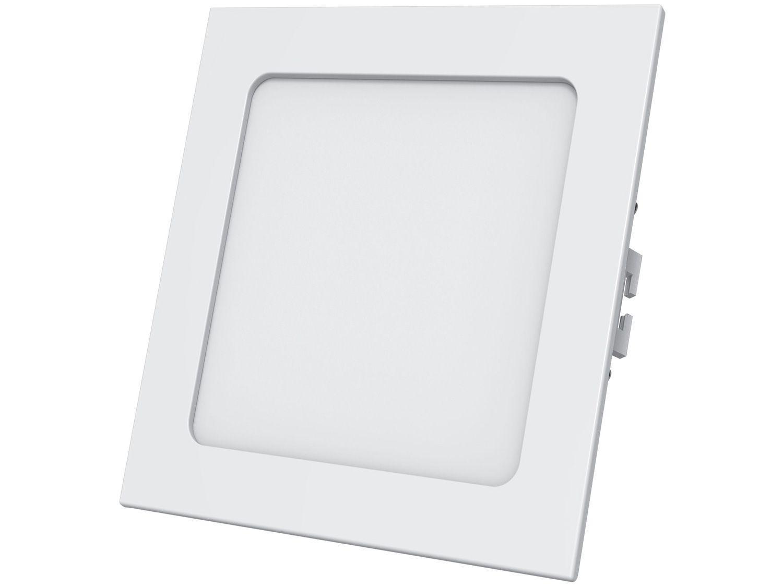 Plafon LED de Embutir Quadrado 12W Black + Decker - BDPD-0800-03 Branco
