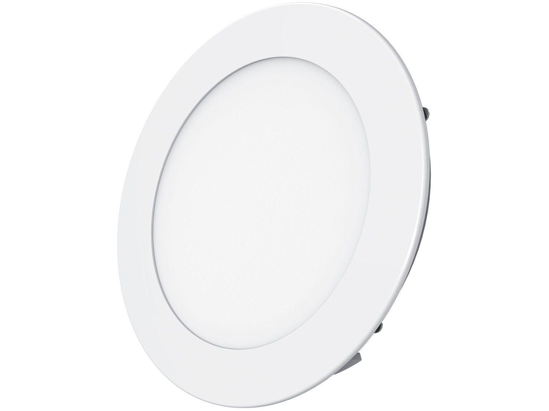 Plafon LED de Embutir Redondo 24W - Black+Decker Slim Branco