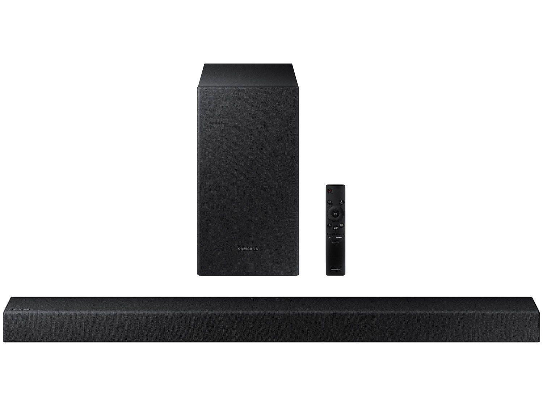 Soundbar Samsung HW-T450/ZD com Subwoofer - Bluetooth 200W 2.1 Canais USB