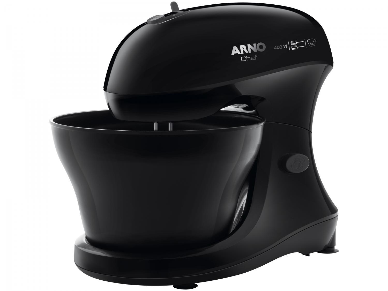Batedeira Arno Preta 400W Chef SM01 5 Velocidades