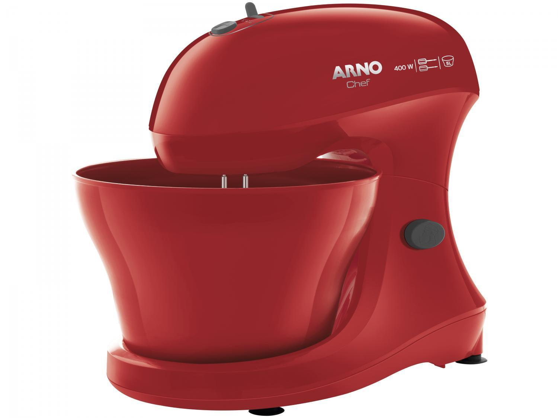 Batedeira Arno Vermelha 400W Chef SM02 - 5 Velocidades