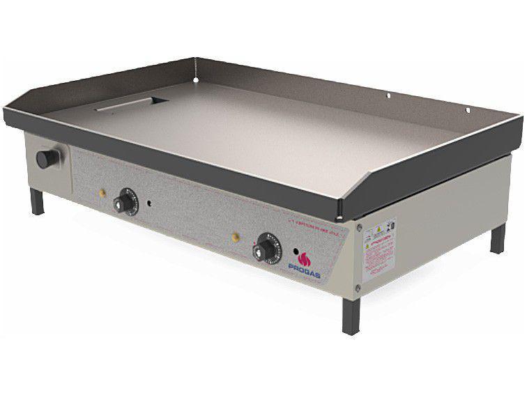Chapa Industrial Elétrica 80cm Progás Bifeteira - PR-800E STY