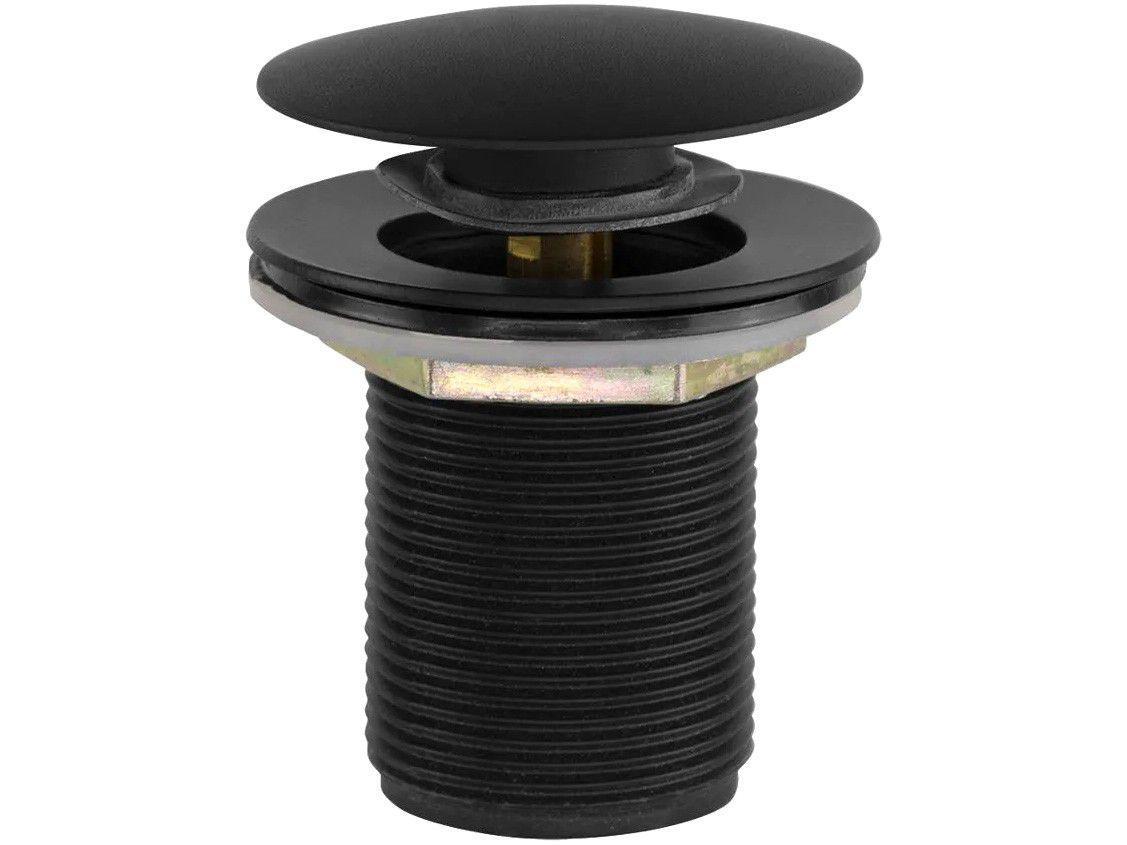 """Válvula para Lavatório Ducon Metais - Longa com Click 1.1/4"""" Black 1605"""