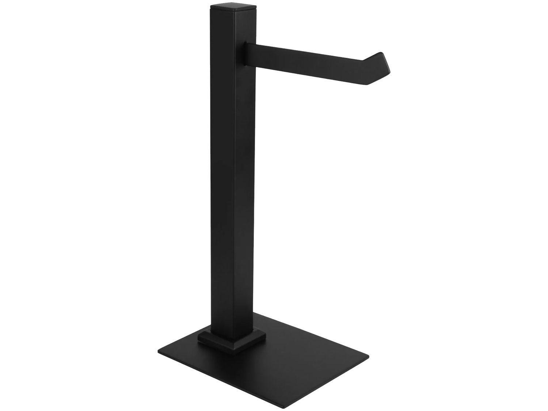Porta-Toalha de Bancada 32cm Preto Fosco - BL6082 Black Ducon Metais
