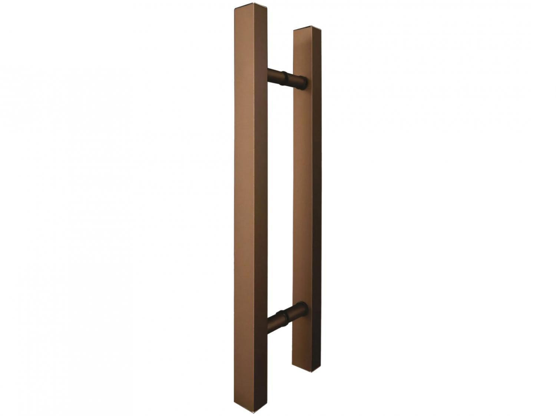 Puxador de Porta de Vidro e Madeira Ducon Metais - Classic CL3121 60cm Bronze
