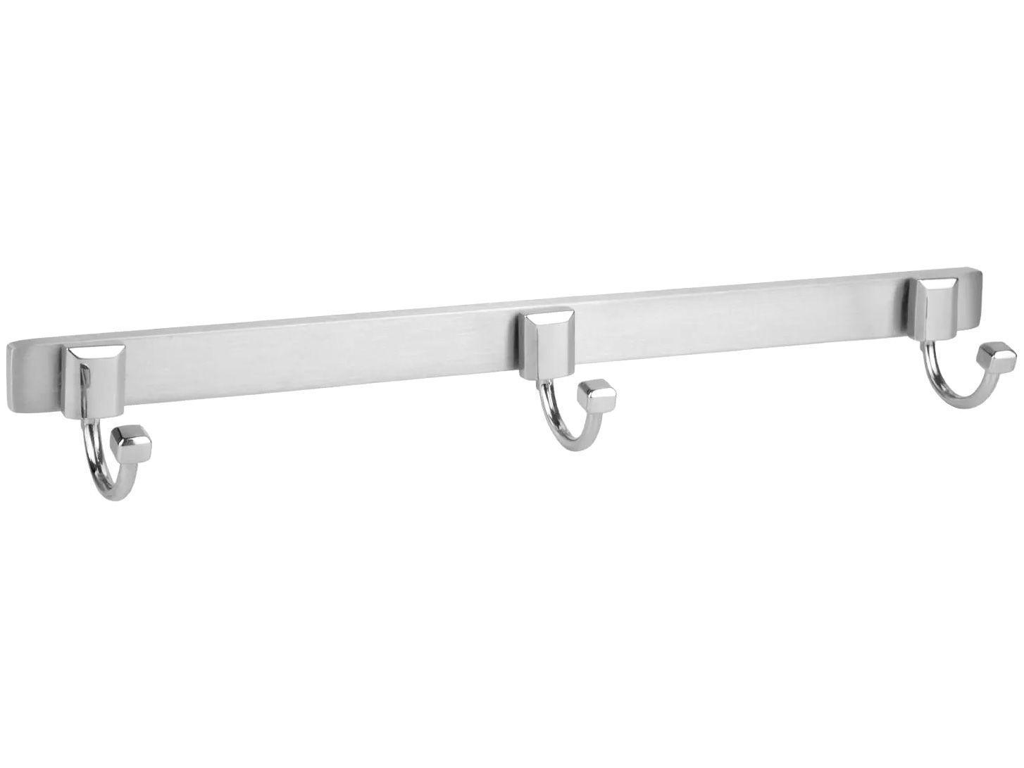 Cabide Triplo para Banheiro Cromado Classic - CL3170 Ducon Metais