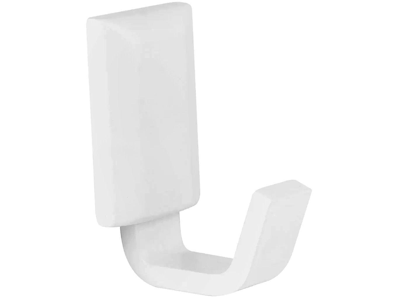 Cabide para Banheiro Branco Fosco Classic White - CW1060 Ducon Metais