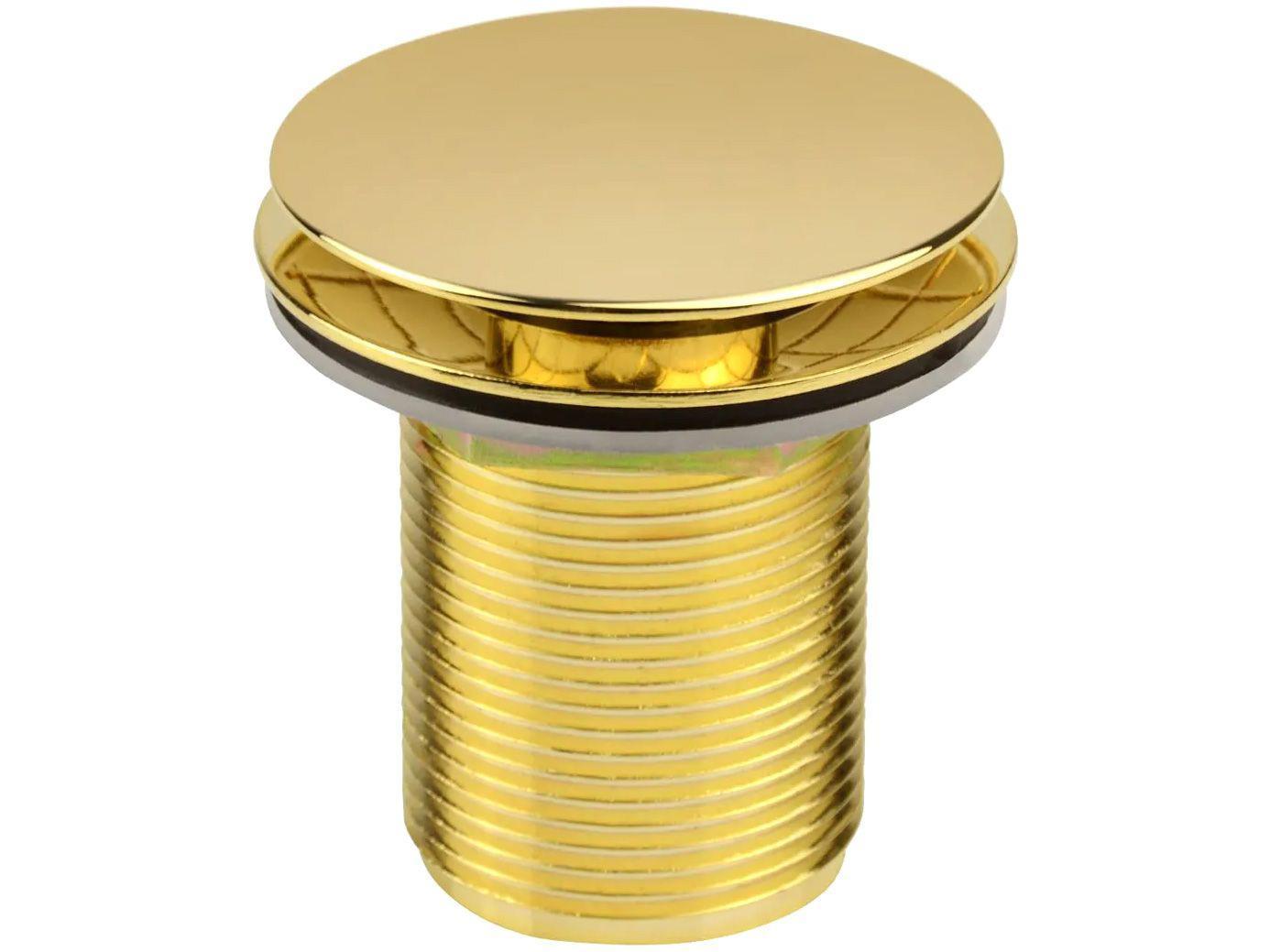 """Válvula para Lavatório Ducon Metais - Longa com Click 1.1/4"""" Gold 1605"""