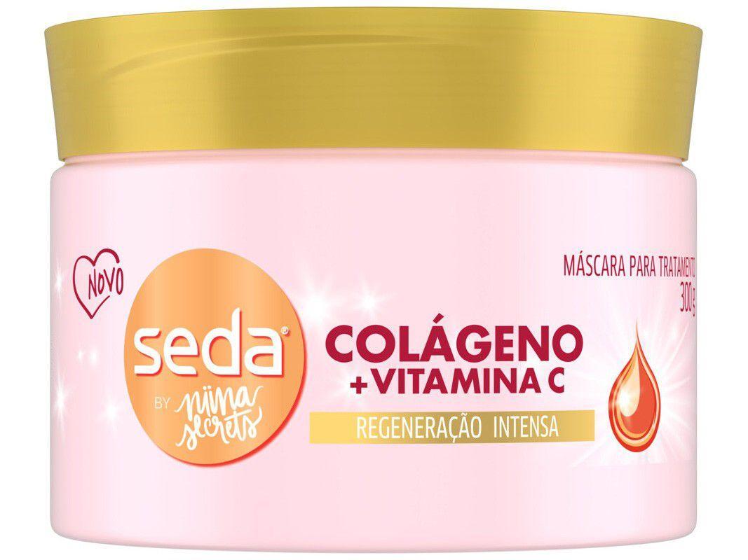 Máscara Seda By Nina Secrets Colágeno + Vitamina C - 300g