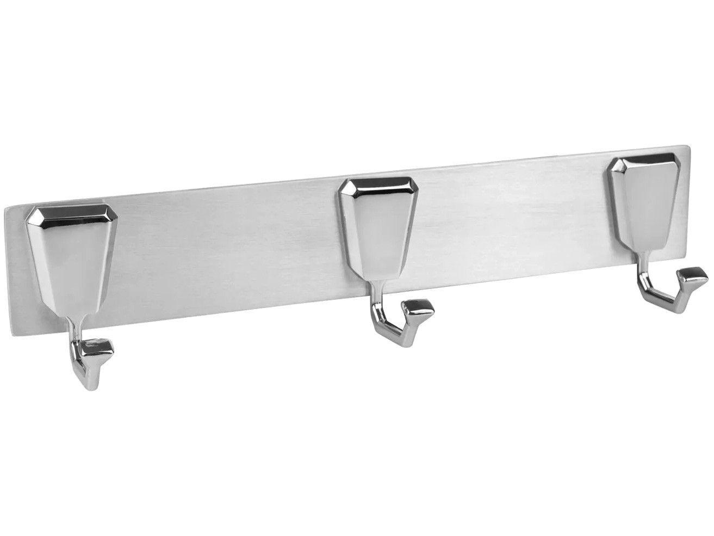 Cabide Triplo para Banheiro Inox Premium - PR4290 Ducon Metais