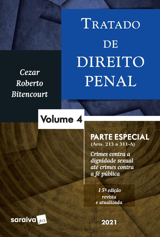 Livro - Tratado de Direito Penal - Volume 4 - 15ª