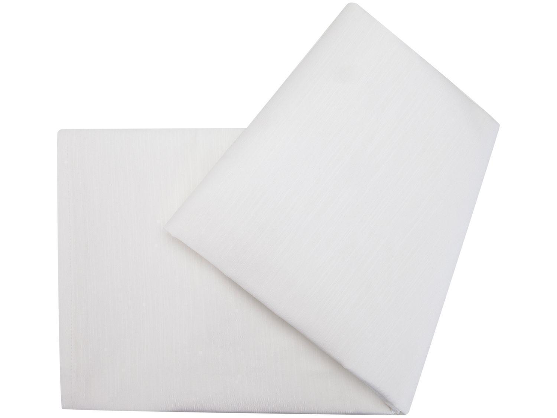 Toalha de Mesa Retangular Döhler Branca - 160x240cm Clear Passion Liso