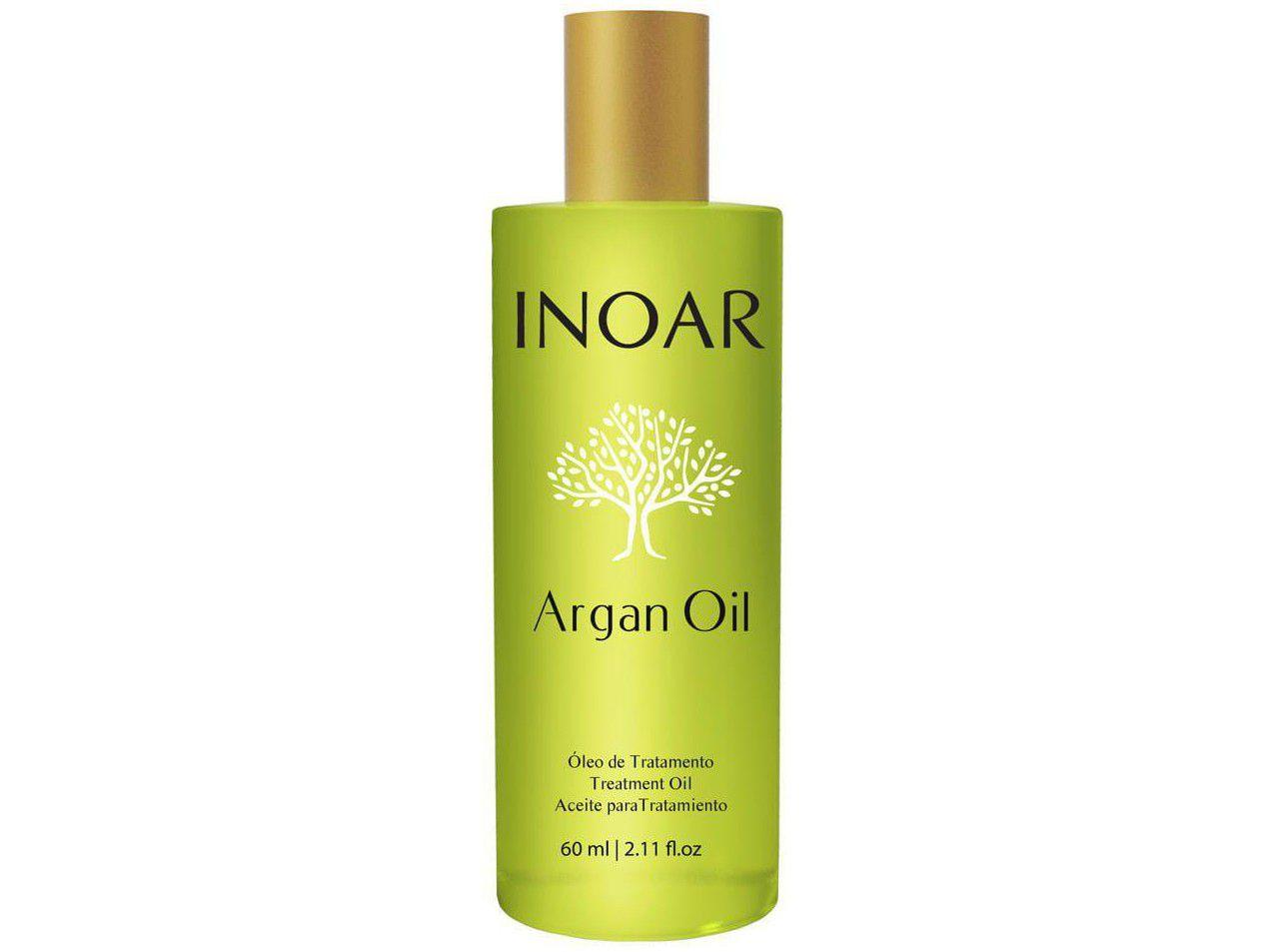 Inoar Óleo de Tratamento Argan Oil - Tratamento Disciplinador