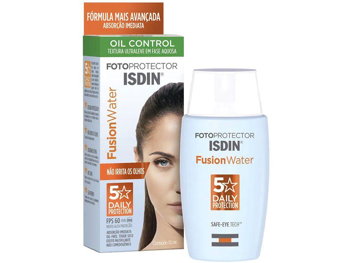 Protetor Solar Facial Isdin Fotop Fusion Water - 50ml