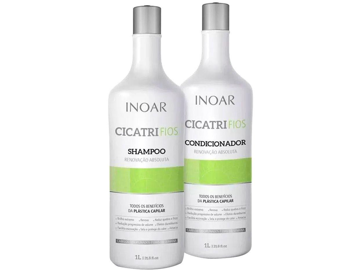 Inoar Duo Cicatrifios Kit Shampoo + Condicionador