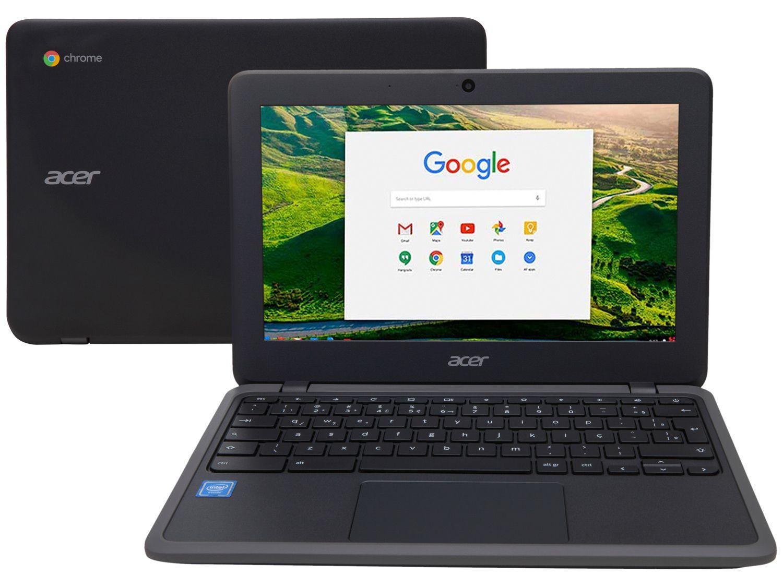 "Chromebook Acer C733-C607 Intel Celeron 4GB - 32GB eMMC 11,6"" Chrome OS"