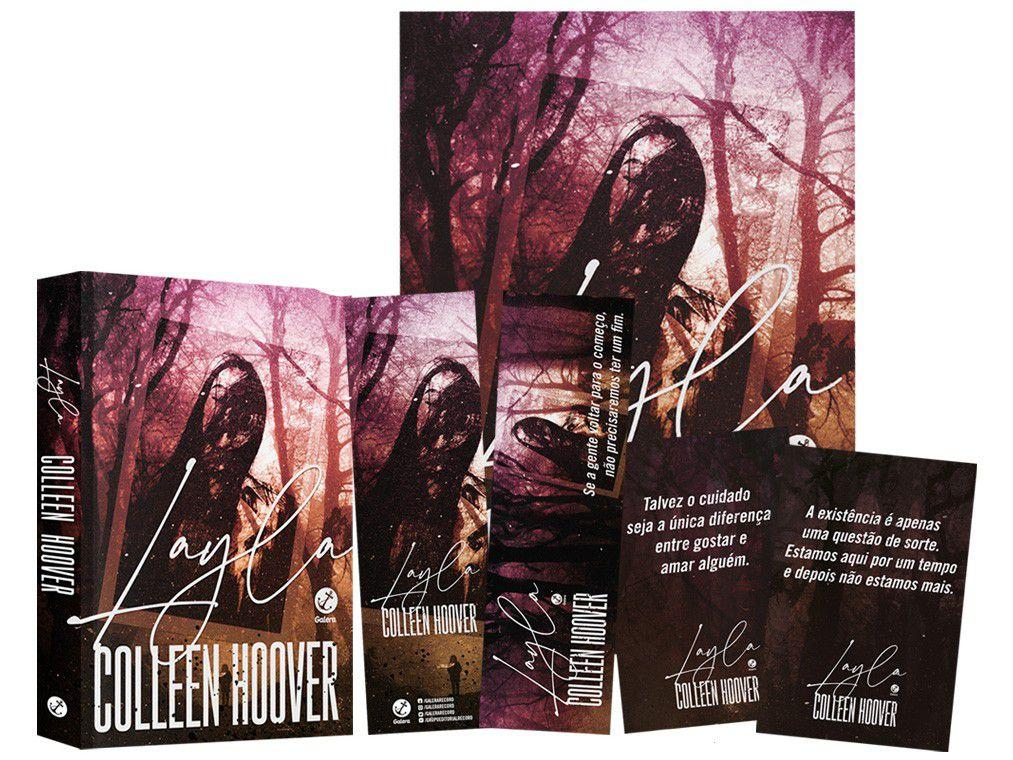 Livro Layla Colleen Hoover com Brinde