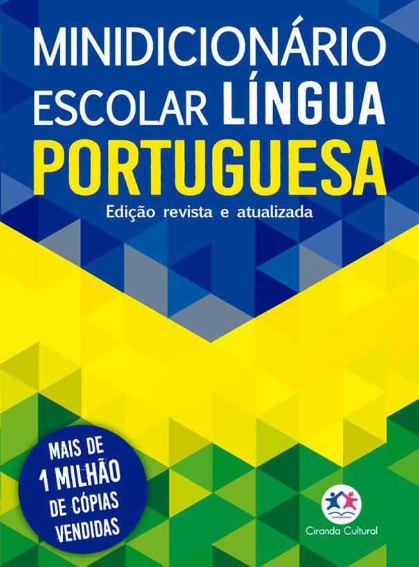 Livro - Minidicionário escolar Língua Portuguesa (