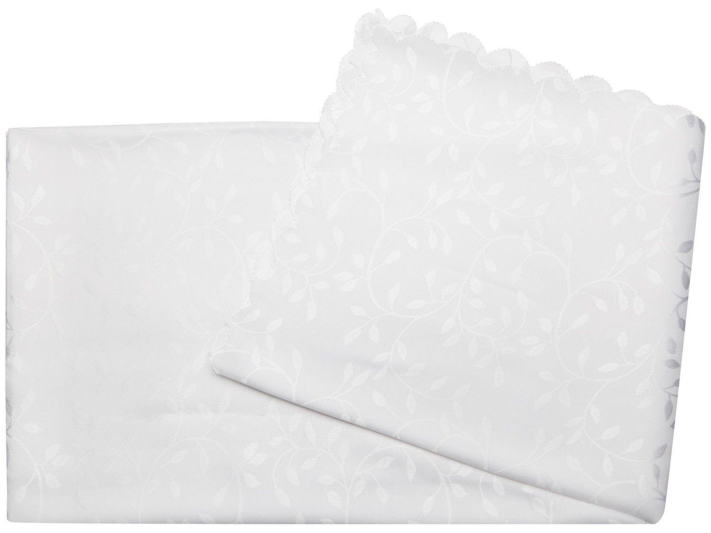 Toalha de Mesa Quadrada Casambiente - Branca 140x140cm Premium