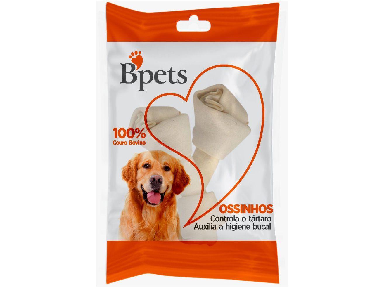Osso para Cachorro Todas as Idades Bpets - 2/3 Nó Natural 28g 2 Unidades