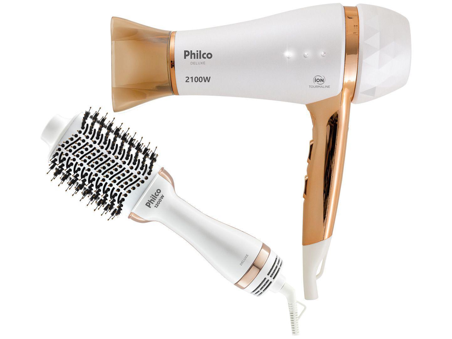 Kit Secador e Escova Philco PKT3150 Deluxe