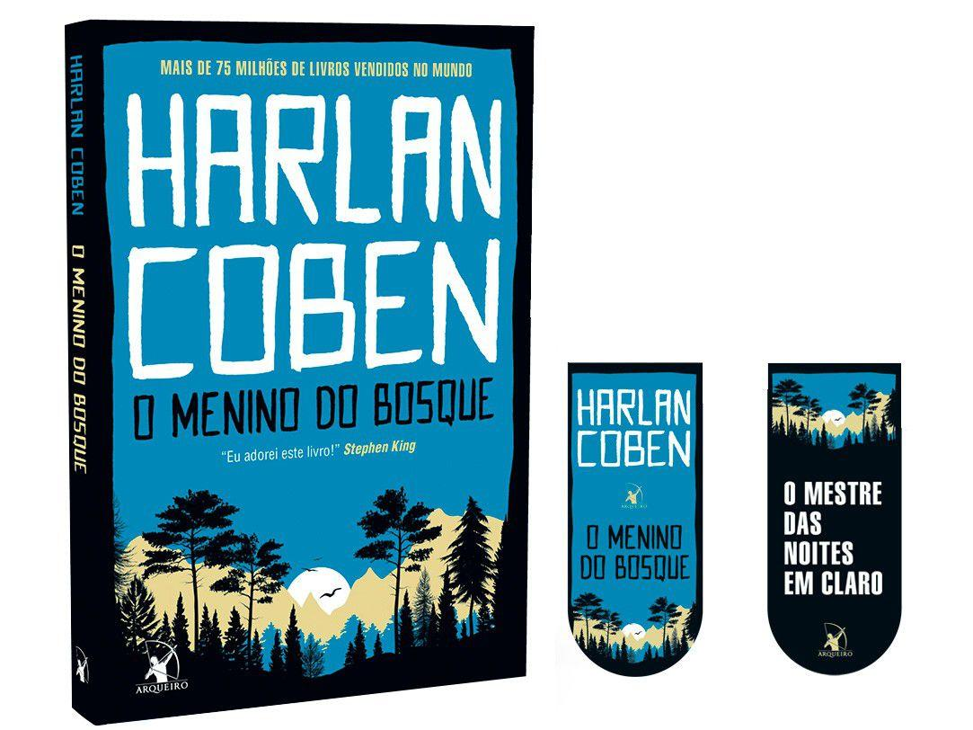 Livro O Menino do Bosque Harlan Coben - com Marcador de Página
