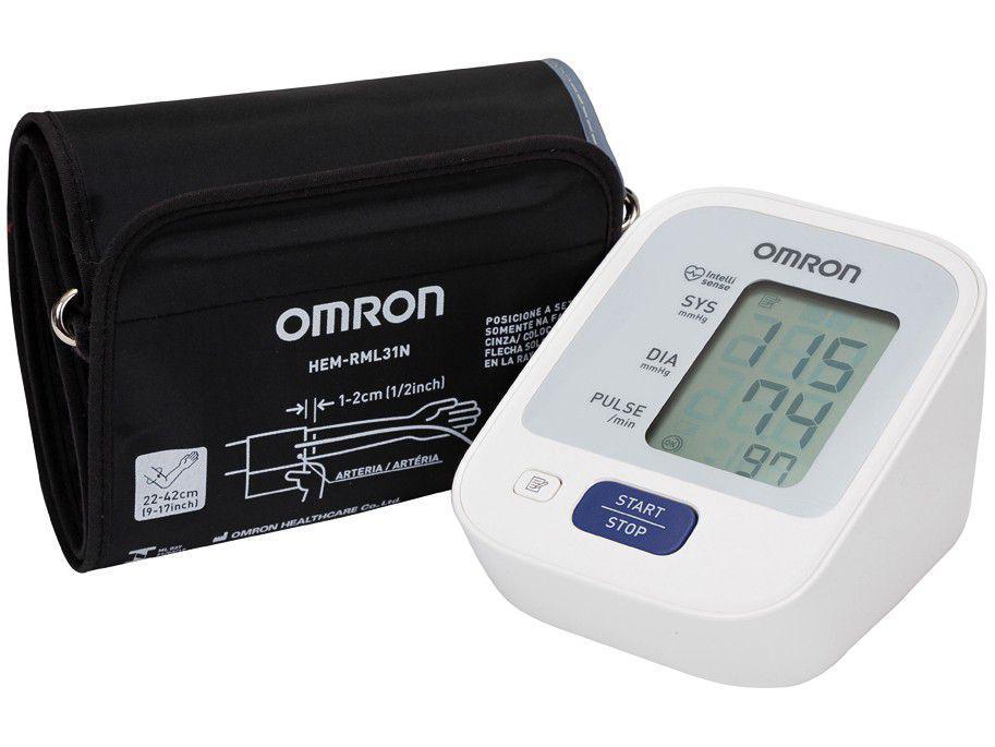 Medidor de Pressão Arterial de Braço Digital - Omron Automático Comfort