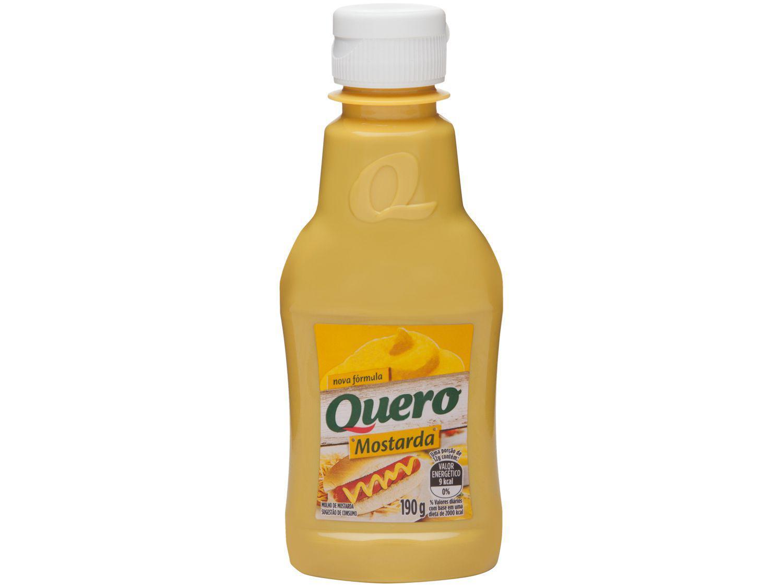 Mostarda Amarela Quero Tradicional 190g