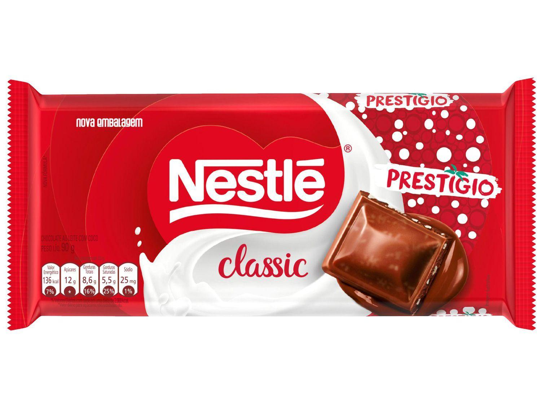 Barra de Chocolate Classic Prestígio 90g Nestlé