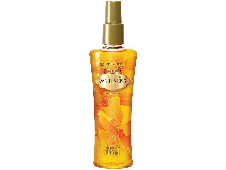 Body Splash Phytoderm Vanilla Kiss - Feminino Refrescante 200ml