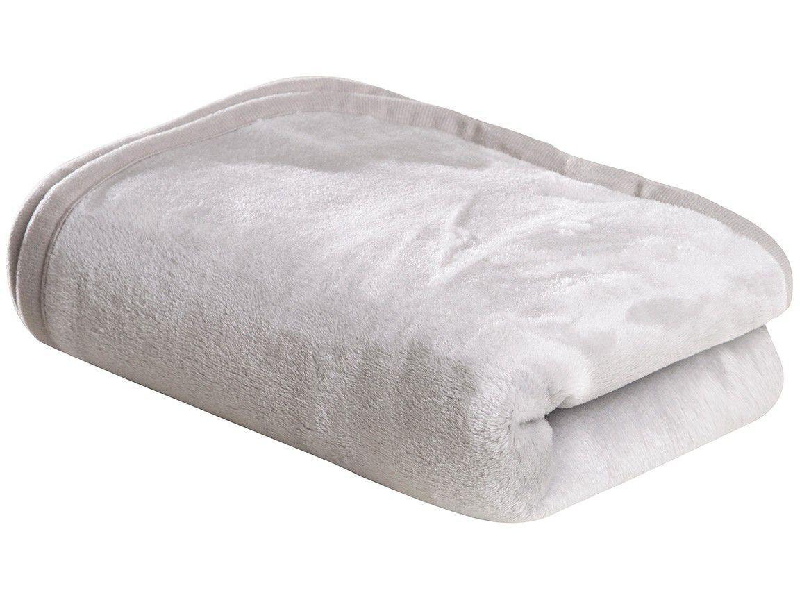 Cobertor para Bebê Sultan 100% Poliéster - Happy Day Flannel Cinza