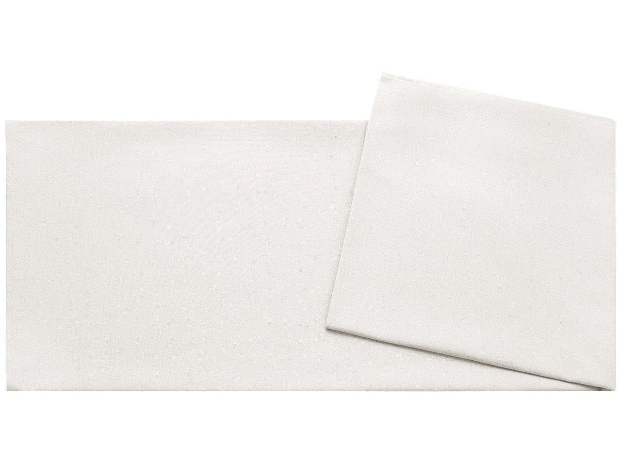 Toalha de Mesa Retangular Naturalle - Branca 180x280cm Off-White