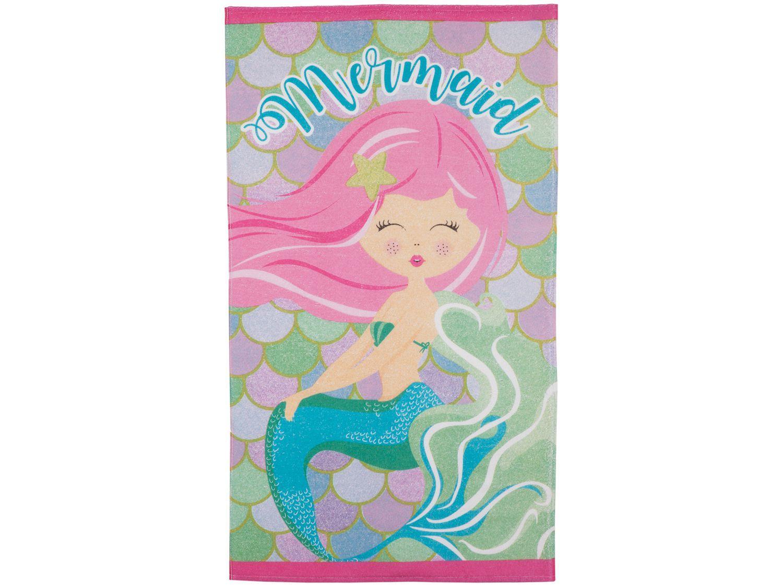 Toalha de Banho Infantil Teka 100% Algodão - Candy Menina sereia