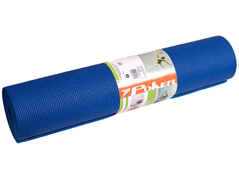 Tapete de Yoga Poker 09066AZU Azul 60x166cm