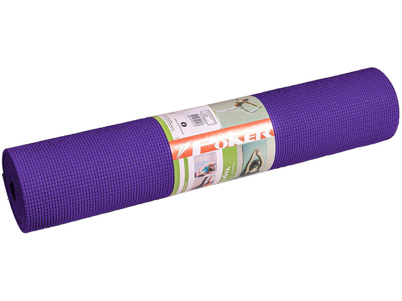 Tapete de Yoga Poker 09066RXU Roxo 60x166cm