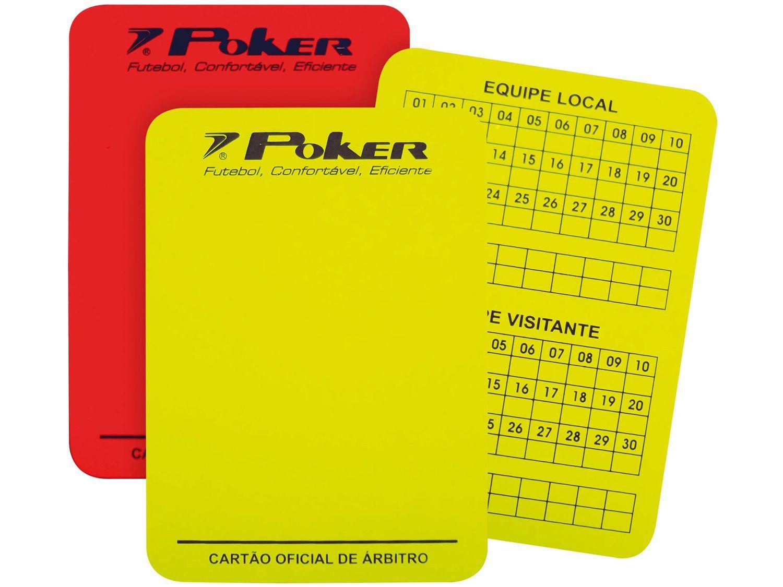 Cartão de Árbitro de Futebol Poker 08057AVU