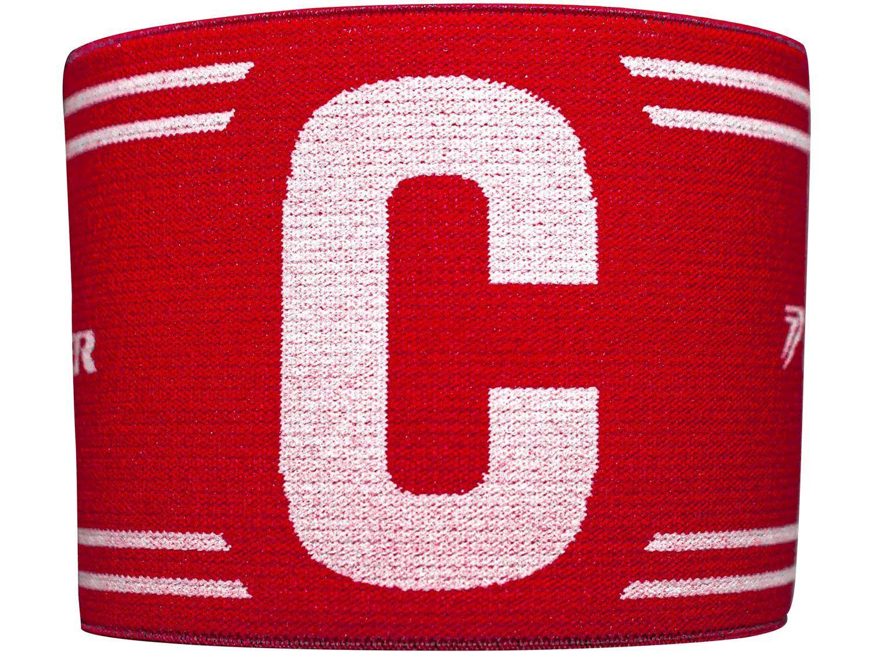 Faixa de Capitão Poker 09701VBU Vermelho e Branco