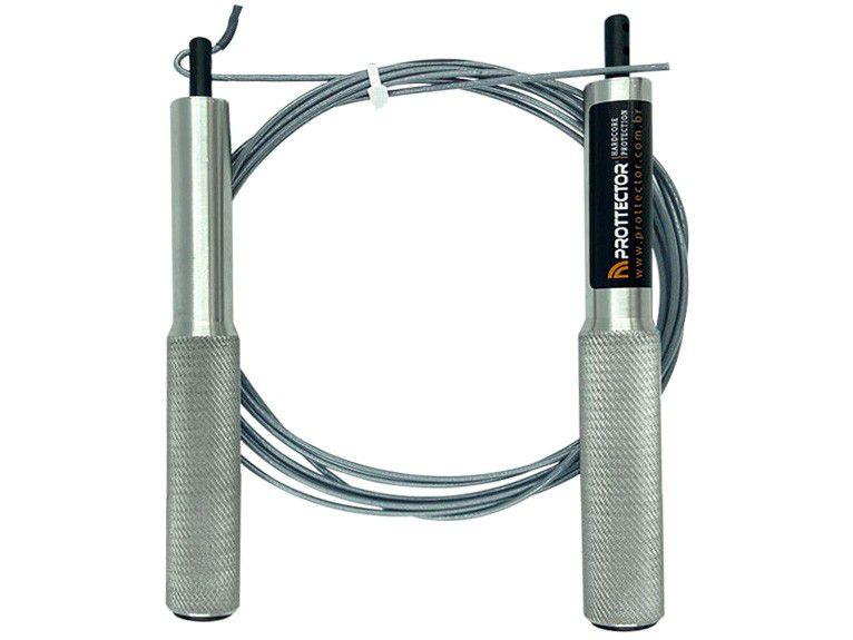 Corda de Pular Profissional Ajustável com Rolamen - Prottector Slim