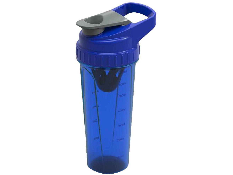 Shakeira com Misturador Prottector 0062.U/A - 700ml 1 Dose Azul