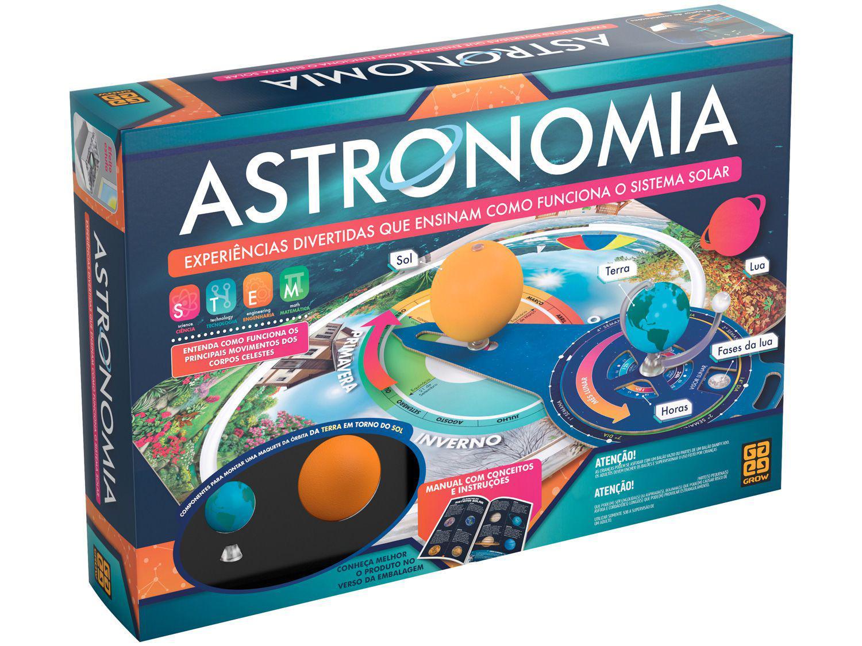 Jogo Educativo Astronomia Tabuleiro Grow