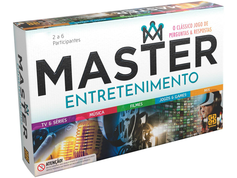 Jogo Master Entretenimento de Tabuleiro Grow