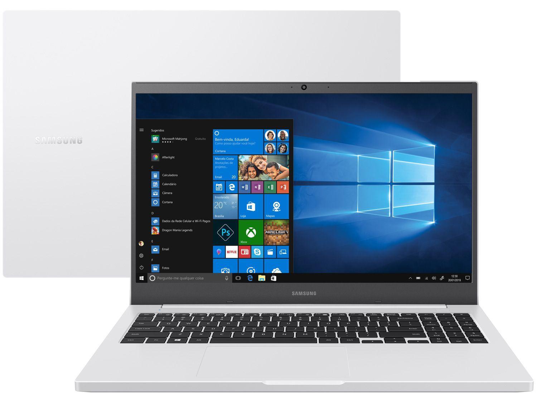"Notebook Samsung Book NP550XDA-KT2BR Intel Core i3 - 4GB 1TB 15,6"" Full HD LED Windows 10"
