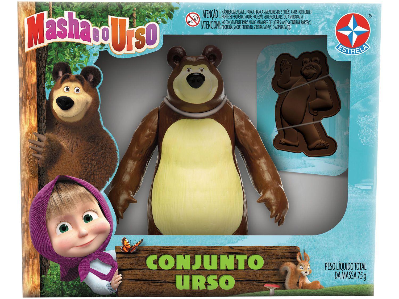Boneco Masha e o Urso 23cm com Acessórios - Estrela