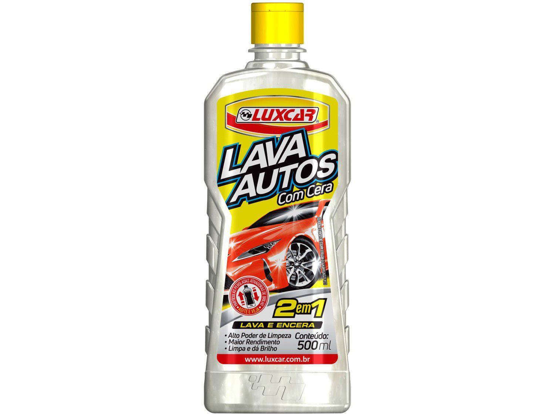 Detergente Automotivo Luxcar Lava Autos 500ml