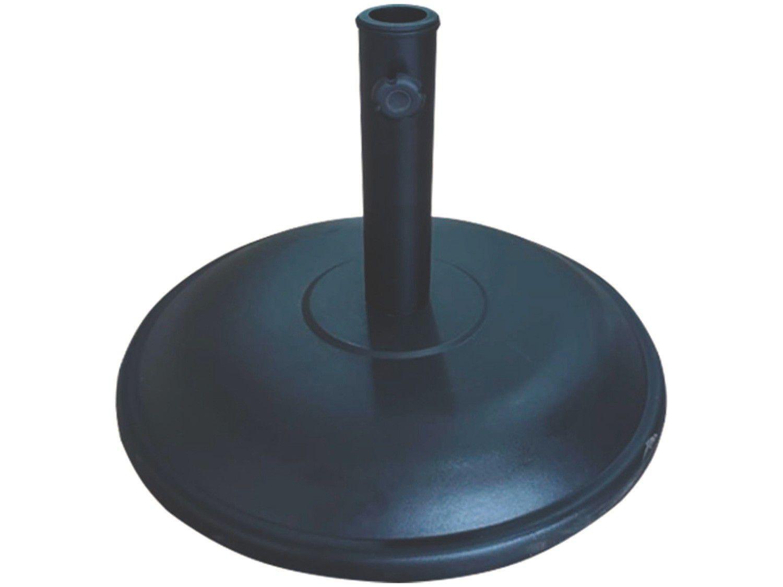 Base para Ombrelone Concreto 25kg Tramontina - Garden Preto